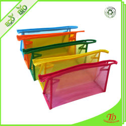 Clear Vinyl PVC Zipper Bags Cosmetic Pouch