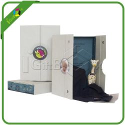 Custom Middle Open Magnetic Closure Paper Gift Box Wholesale