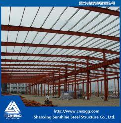 Welded Prefabricated Building Steel Frame for Warehouse