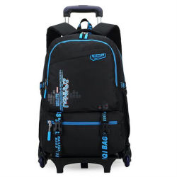 Primary and Middle School Students Detachable Trolley Backpack (GB#098)