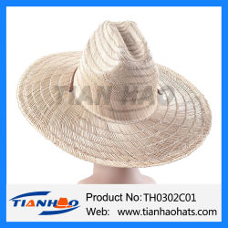 5b13172cfbbb3 Wholesale Cheapest Wide Brim Sombrero Cowboy Straw Sun Hat for Promotion