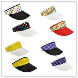 5cb39053421605 Summer Adjustable Sports Cap, Wholesale Visor Hat, Colorful Sun Visor Caps