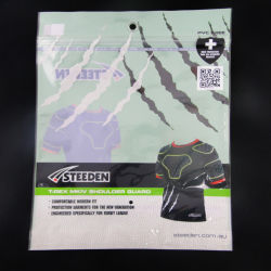 Hot Sale Sportswear Packaging Bag with Zipper