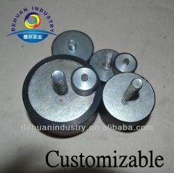 China Reclaimed Rubber Vibration Damper with M8/10/20 Screw