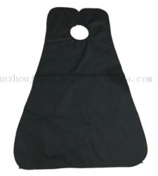OEM DIY Water Proof Polyester Shave Hairdressing Gown Cape