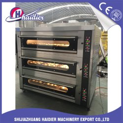 Wholesale Baking Machine Equipment Deck Oven for Bakery with 3 Decks 9 Trays