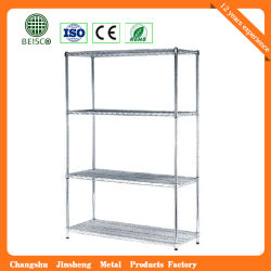 Popular Chrome Steel Display Wire Shelving