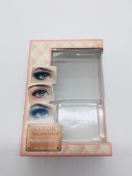 Protective Luxury Cosmetic Transparent Blister Pack with Colorful Plastic Box Set