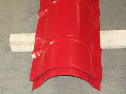 Roofing Accessories Valley Tray/Roofing Half Round Angle Ridge/Ridge Cap