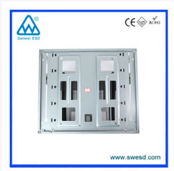 High Quality Plastic ESD Antistatic Adjustable Magazine Rack for PCB Holder