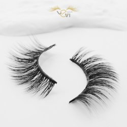Levi Private Label Silk Artificial Eyelash Synthetic Fiber False Eyelashes