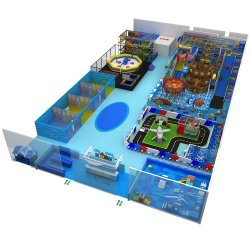 Professional Commercial Indoor Toddler Playground Amusement Park Equipment Sets
