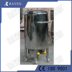 Sanitary Stainless Steel Slurry Mixing Tank Powder Tank