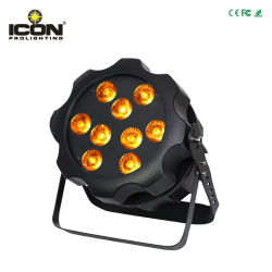 9X15W 6-in-1 Outdoor PAR LED Wash Stage Lighting Equipment