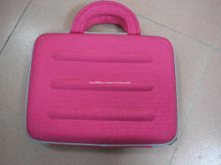 Manufacturer Wholesale Custom PU Leather EVA Carry Laptop Sleeve Bag