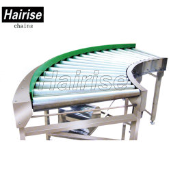 Steel Flexible 90 Degree Curve Automated Turning Roller Conveyor