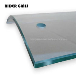 6 12mm Tempered Glass Shower Wall Panels