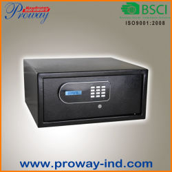 LCD Display Electronic Hotel Safe Box with Laptop Size