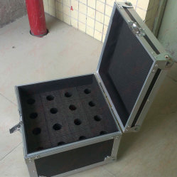 Portable Wire Microphone Case Plywood Flight Case