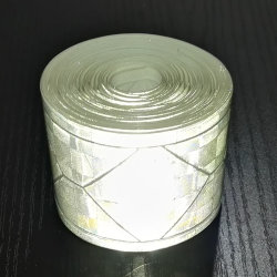 High Visiblity Safety Clothing Sew on PVC Reflective Tape