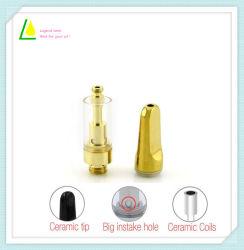 Wholesale E Cigarette Vaporizer Pen 0.5/1.0ml Ceramic Cbd Oil Glass Atomizer