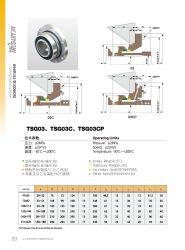 Pump Seal Tsg03cp, Mechanical Seal, Famous Slurry Pump Seal