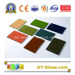 4mm, 5mm, 6mm Reflective Glass/Tinted Glass/Coated Glass Used for Building