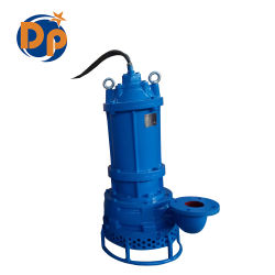 Ss25-12-3 High Suction Lift Centrifugal Mining Sand Submersible Slurry Pump