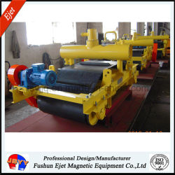 Electric Oil Cooled Cross Belt Magnetic Separator for Metal Garbage Sorting