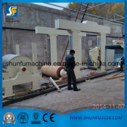 Crescent Tissue Paper Making Machine with Pulp Making Line From Recycle Materials