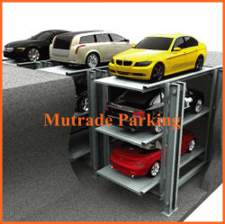 Hydraulic and Electric Underground Car Garage