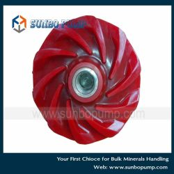 Polyurethane Impeller for Slurry Pump PU Impeller High Wear Resistance