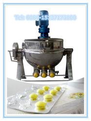 Medicine Coating: Stainless Steel Sugar Coat Melting Electrical Heating Interlayer Pan