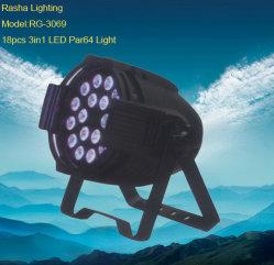 18PCS 3in1 LED PAR Light, Stage Effect Light (RG-3069)