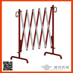 Metal Steel Portable Expandable and Folding Crowd Control Barrier for Road Traffic Safety&Construction