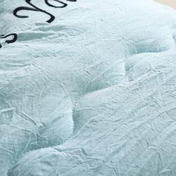 Lightweight Printed Brushed Microfiber Down Alternative Reversible 3-Piece Comforter Set