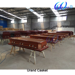 Wholesale Poplar Best Seller Poplar Similar Metal Coffin and Casket