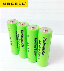 New 1.5V Alkaline Rechargeable AA Battery Cr6