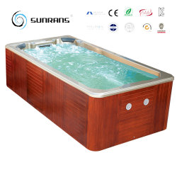 Top Quality and Low Price 4.2m Outdoor Freestanding Whirlpool Massage Jacuzzi Swim SPA