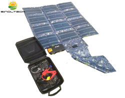 Military Standard 30W Folding Flexible CIGS Solar Charger Kit (SP-030K)