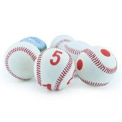 Good Quality Rawlings a Cowhide + 50% Wool Baseballs