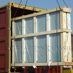 Blue Lattice Glass Block for Decoration