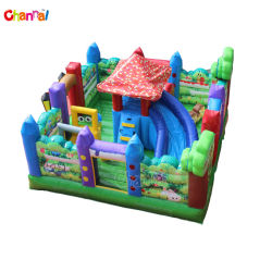 2018 Kids Inflatable Obstacle Course Backyard Inflatable Playground