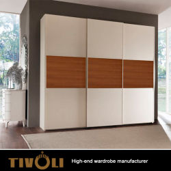 Factory Wholesale China Custom Modern Style Flooring Stand Provided Wooden  Designs Laminate Bedroom Wall Wardrobe