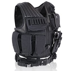 600d/1000d Polyester Fabric Military Safety Hunting Tactical Vest
