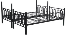 Military Wholesale Cheap Hotel Adjustable Army Double Iron Bunk Bed