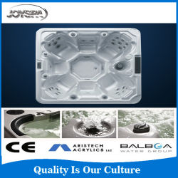 2015 New Arrival Combo (air& water jet) Massage Hot Tube for Big Size People, Acrylic Swimming Pool Bath Tub