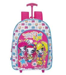Wholesales Fancy School Trolley Backpack for Children (DX-TR1510)