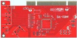 USB Flash Gold Fingers PCB with Blue Somder Mask