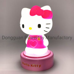 Japan Cartoon LED Night Light for Children Baby Kids Bedside Lamp Multicolor Silicone Touch Sensor Tap Control Nightlight